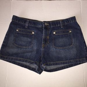 Roxy Jean Shorts Dark Wash Sz 11